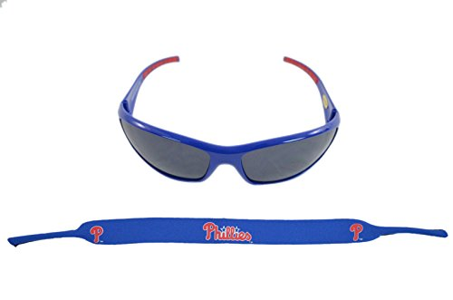 - Siskiyou Sports Inc Official Major League Baseball Fan Shop Authentic Sunglasses and Neoprene MLB Team Strap. Enjoy tailgating and the Game in the Sun with cool specs (Philadelphia Phillies)
