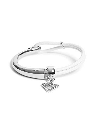 GUESS Factory Women's Black and Silver-Tone Friendship Bracelet