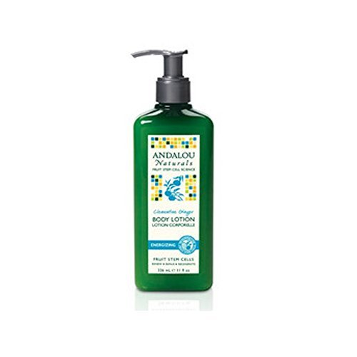 Andalou Naturals Energizing Body Lotion, Clementine Ginger, 8 Ounce - Nature Ginger Body Lotion