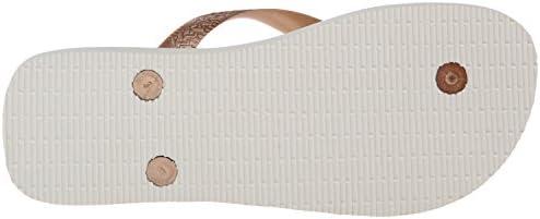 havaianas Women's Spring Flip Flop Sandal, Rose Gold, 1112