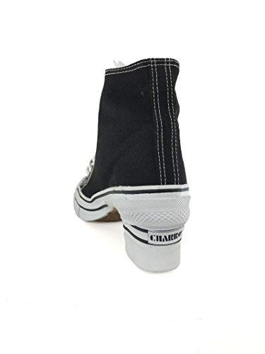 02129 Heel Vintage With Canvas Women Charro 7 Cm 36 Sneakers El qR1WfwP5R