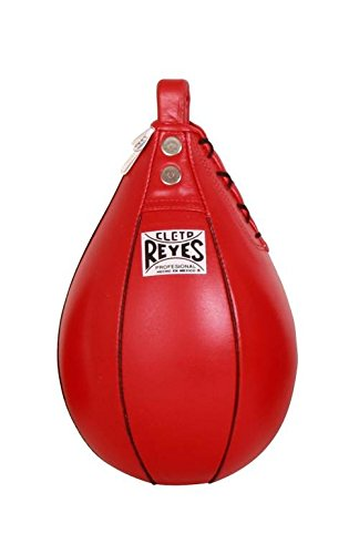 Speed Striking Bag (Red Large: 11 L x 7 W x 4 H (0.8 lbs.)) by Cleto Reyes