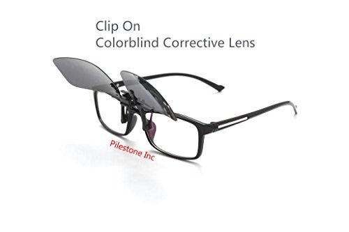 tp-004-color-blind-glasses-180-flippable-clip-on-dark-lens-colorblind-correction