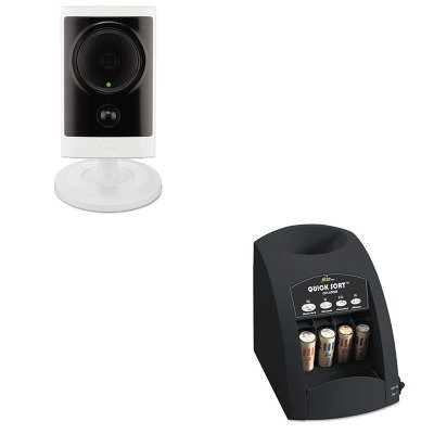 - KITDLIDCS2310LRSICO1000 - Value Kit - D-link Systems Inc Cloud Camera 2300 Indoor/Outdoor HD Network Camera (DLIDCS2310L) and Royal Sovereign Fast Sort CO-1000 One-Row Coin Sorter (RSICO1000)