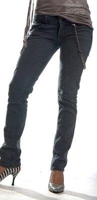 Jeans Fit Skinny Junkie (Chicks Junkie Fit Jeans - Sonic Blue in Dark Wash)