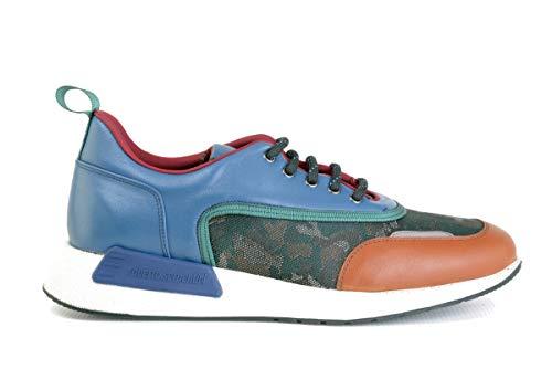 Serpentini Sneaker marrone Blu Roberto Uomo S8nxg