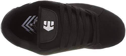 Black Etnies Metal Skate Shoe Fader Mulisha Black White qAA0SxWr