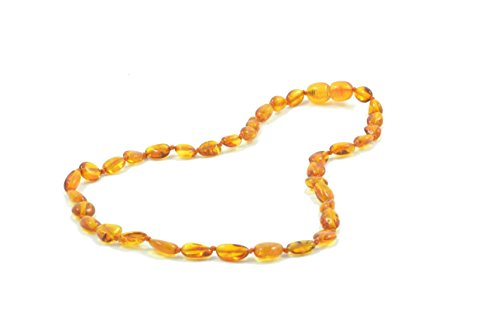 baltic-amber-teething-necklace-for-babies-33cm-natural-anti-inflammatory-solution-for-teething-with-