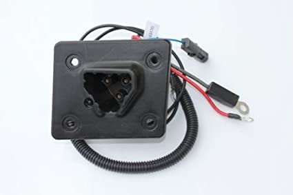 amazon com charger receptacle for ezgo rxv \u0026 48v ezgo txt golf