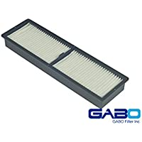 Gabo Filters D-EP02B for EPSON EMP-6100 Part# ELPAF11/V13H134A11