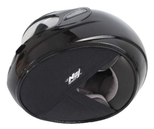 NOJ Quiet Rider Helmet Skirt Basic - Made In the USA - Noise Reduction - Easy Installation