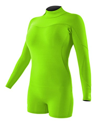 Body Glove Wetsuit Co Women's Smoothie Long Sleeve Spring Suit, Flim, Size 7/8