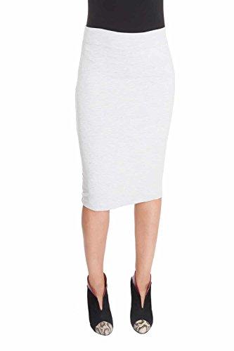 Esteez Women's Pencil Skirt - Modest Stretchy Below The Knee - CHICAGO