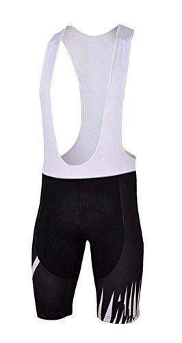 Uriah Men's Cycling Bib Shorts 3D Gel Padded Ghost Tooth Size M(CN)