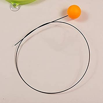 NOLOGO JS-mlx Dispositivo de Tenis de Mesa de Ping-Pong Formación Robot for el hogar Ventosa Mesa Tenis Entrenamiento Suave Máquina del Eje de formación (Color : 1)