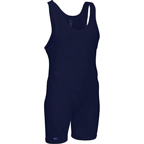 Cliff Keen The Relentless Wrestling Singlet - SIZE: S, COLOR: Navy
