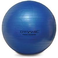Dynamic Pilates Topu, Unisex, Mavi, 55 cm