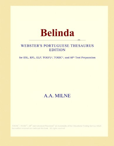 Belinda (Webster's Portuguese Thesaurus Edition)