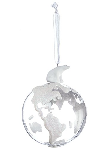 Polar Bear North Pole Snowy World 4 inch