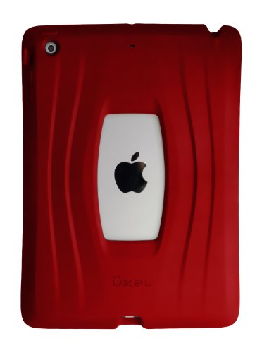 UZBL AirWave iPad Air Case One Piece Silicone Design (Red)