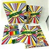 Back To School Teens Middle High Elementary School Classroom Teacher Supplies Supply Kit Mechanical Pencils Folder Inc Rad Boom Awesome Binder 8 Piece Set