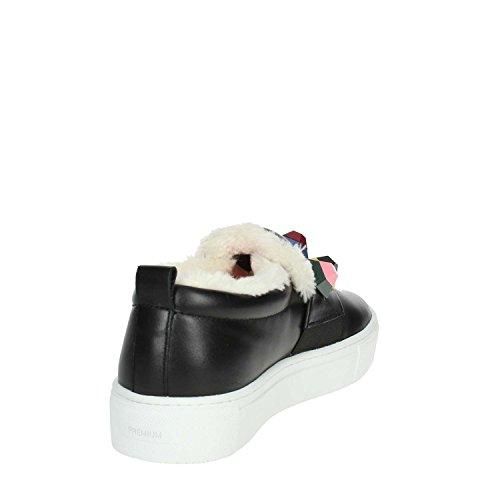 D.A.T.E.. I18-133 Slip-on Chaussures Femme Noir iZXlyHoXc2