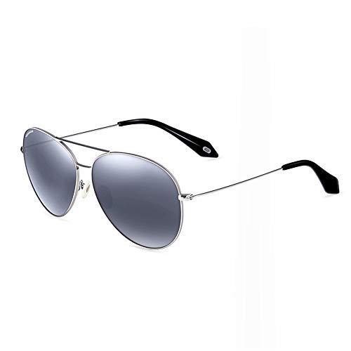 Cara Femeninos de Modelos Gafas KHIAD Sol Redondo Rana Sol Gafas de polarizadas Gafas Espejo wIPZqB5