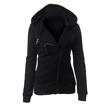 Amazon.com: Saborz Women's Winter Coat Autumn Diagonal