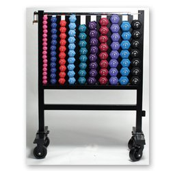 Neoprene Dumbell Set and Storage Rack by Cap