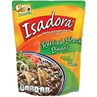 Isadora Refried Black Beans 15.2 Ounce (Pack Of 2)