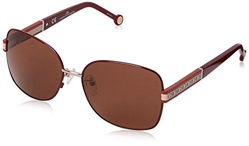 carolina-herrera-womens-she044-5808p2-square-sunglasses-shiny-peach-pink-brown-58-mm