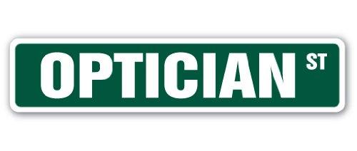 OPTICIAN Street Sign eye glasses contact lenses exam| Indoor/Outdoor |18