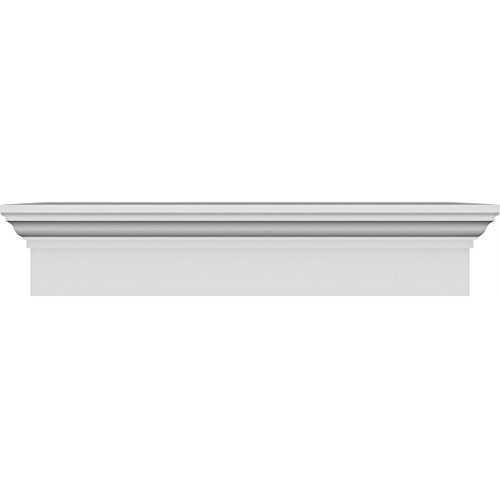 Pediment Top - Ekena Millwork CRH06X42 42