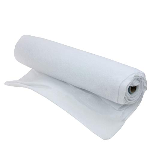 Northlight White Artificial Christmas Soft Snow Blanket Roll - 8' x 36