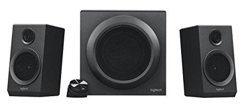 Logitech Z333 Multimedia Speakers - Lautsprecher für Home Entertainment (mit 80Watt und Subwoofer) schwarz