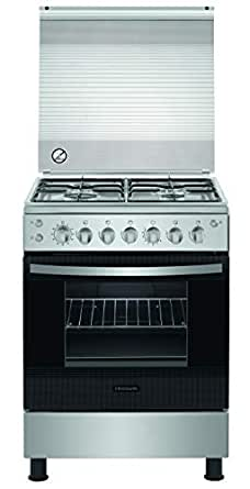 Frigidaire Freestanding Gas Cooker, 60 cm, STAINLESS STEEL -  FNGB60JGRSO