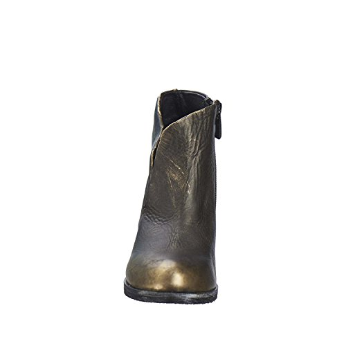 Antelope Kvinners 661 Metallisk Skinn Ortopediske Sko Gull