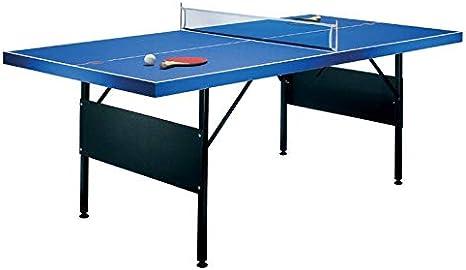 Mesa de ping-pong plegable 183x71x91cm incluye 2 palas ...