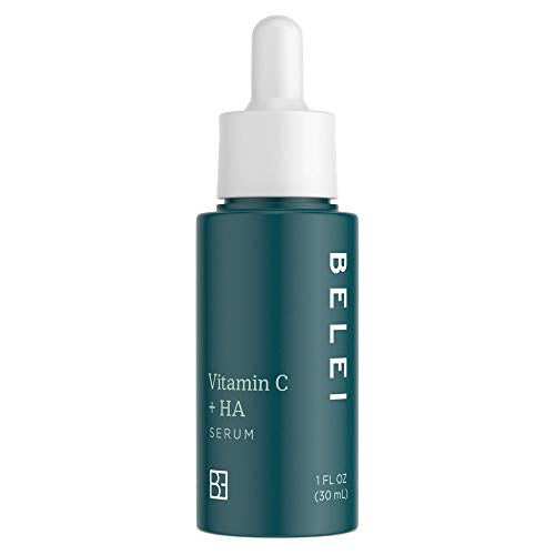 Belei Vitamin C + Hyaluronic Acid Serum, Fragrance Free, Paraben Free, 1 Fluid Ounce (30 mL) from Belei