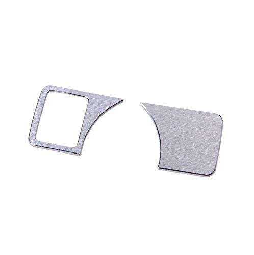 Interior Headlight Switch Button Frame Trim Cover 2pcs