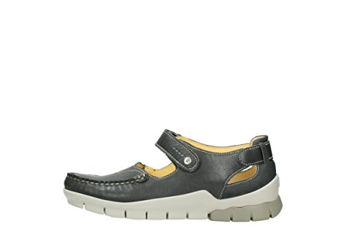 Grey Mary Comfort Leather 70200 Janes Polina Wolky wqXxHW5F5