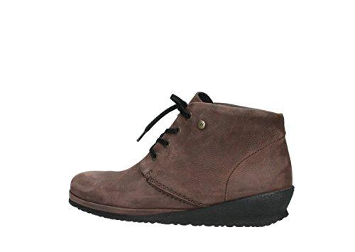 Chaussures Comfort Sacramento Nubuck à lacets Mocca Wolky 11332 q5dUq