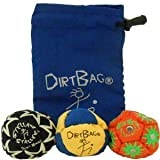 DirtBag All Star Three Pack - Blue/Yellow w/Blue Pouch