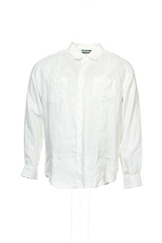 UPC 740700309286, Cubavera Men's Long Sleeve Essential Two Pocket Shirt, Bright White, X-Large
