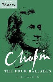 Chopin: The Four Ballades (Cambridge Music Handbooks) by Brand: Cambridge University Press