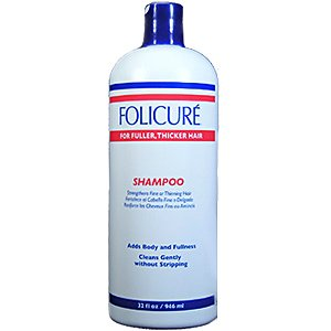 Folicure Shampoo 32oz For Fuller Thicker Hair (2 Pack) by Folicure