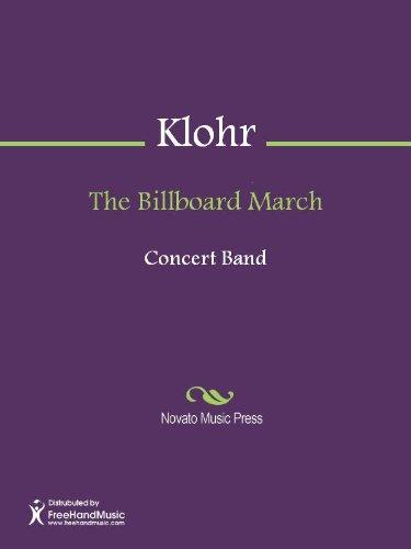 (The Billboard March - Conductor's Score)