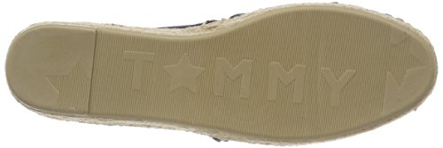 Women''s Blue On Corporate Espadrille midnight Hilfiger Tommy Slip 403 5FqwAnO
