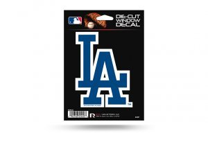 MLB Los Angeles Dodgers Die-Cut Window ()