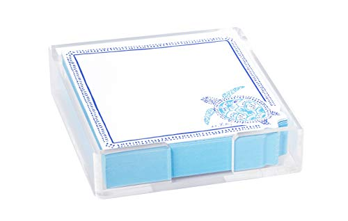 Lilly Pulitzer Small List Pad with Acrylic Holder, 5